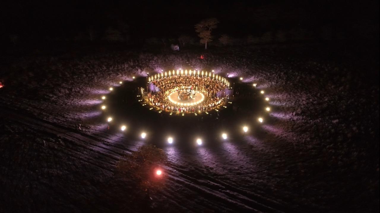 iluminacao para evento
