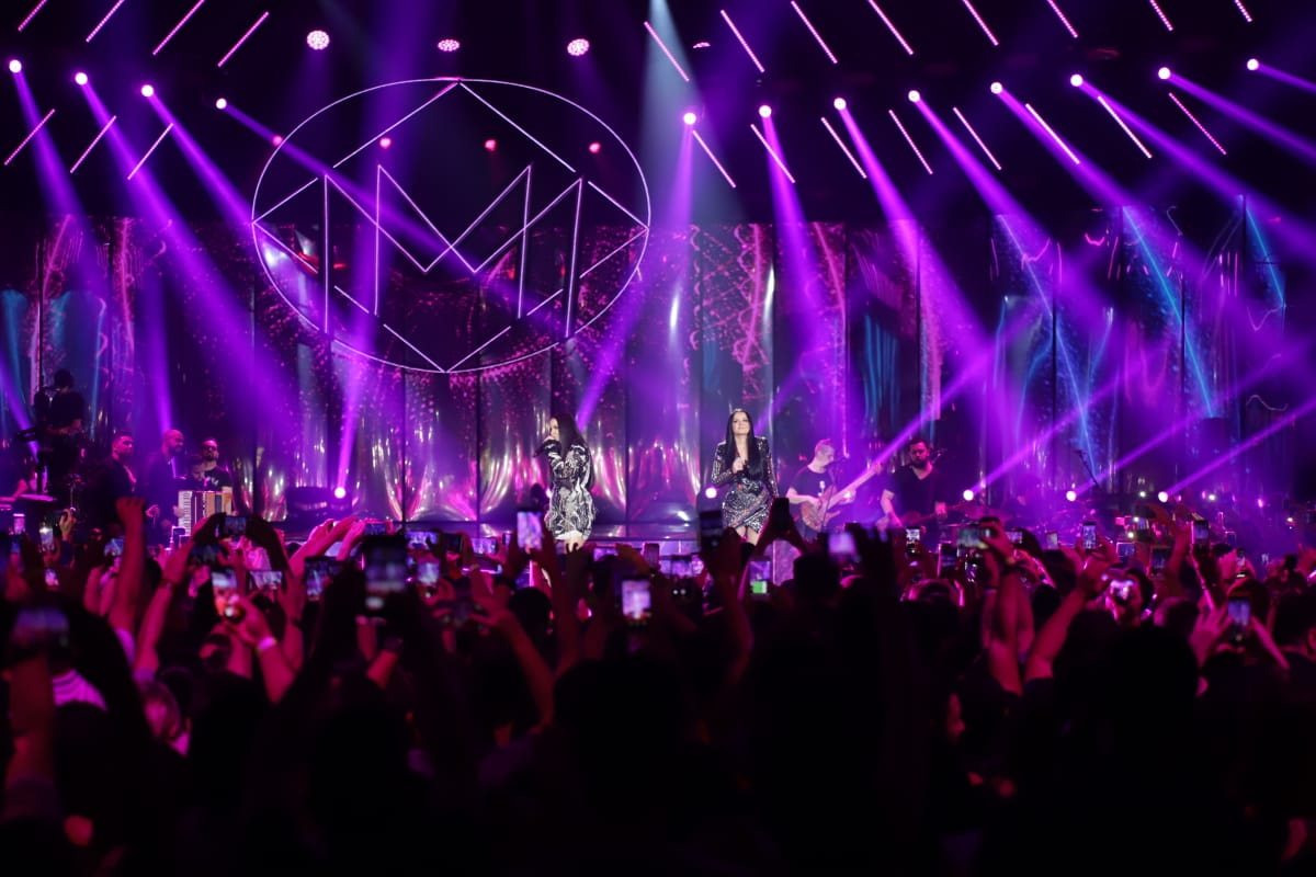Iluminação profissional para shows e eventos